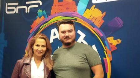 Ива Дойчинова с Boyan