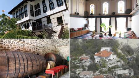 Кордопуловата къща е сред най-известните забележителности на Мелник