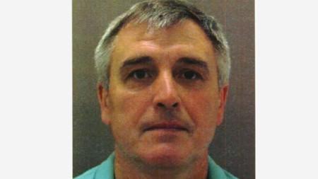 Обвиненият Денис Сергеев, който използвал името Сергей Федотов, за да влезе във Великобритания.