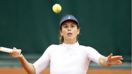 Цветана Пиронкова спечели в два сета.