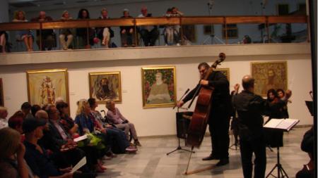 """El concierto durante la ceremonia de entrega de premios fue realizado por la Orquesta de Cámara """"Orfeo"""", director Raicho Hristov, solista Dimitar Ivanov."""