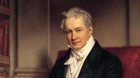Портрет на Александър фон Хумболт от Йозеф Карл Щиле (1843)
