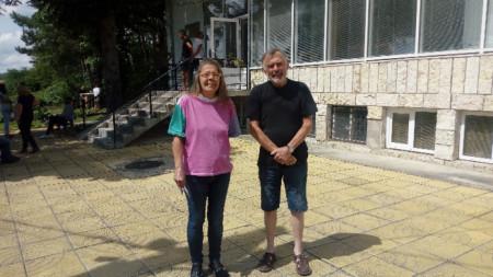 Джейн и Бари Уол