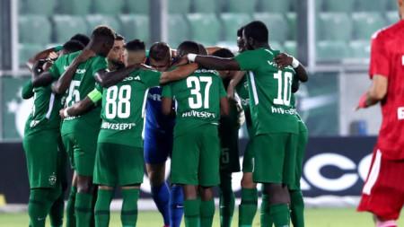 Отборът на Лудогорец победи с 2:0 Черно море