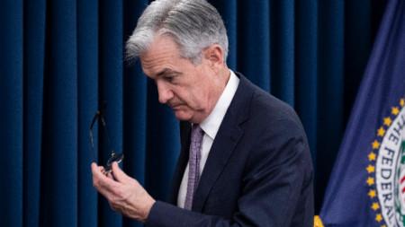 Шефът на Управлението за федерален резерв Джером Пауел