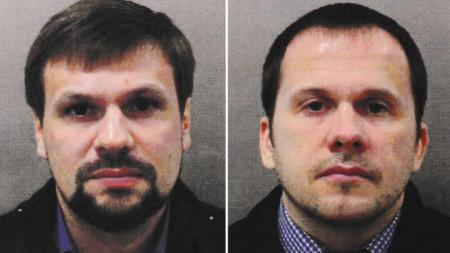 Александър Петров (вдясно) и Руслан Боширов