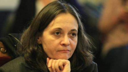 Deputy Minister of Health Zheni Nacheva