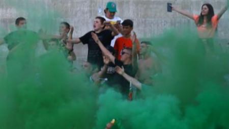 Привържениците на Ботев (Враца) имаха куп поводи за радост при победата срещу Левски
