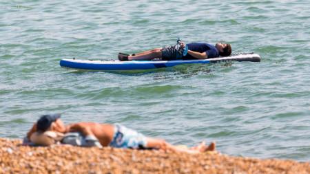 Кент, 22 юли 2021 г. Първо предупреждение за екстремни горещини в историята на Великобритания.