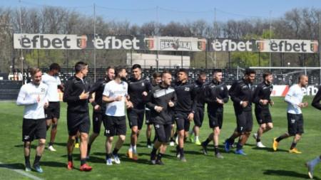 Локомотив (Пловдив) тренира днес на