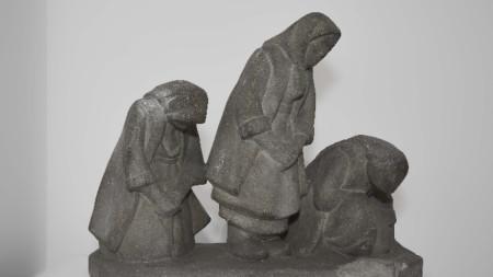 """""""Молещи се жени"""", Иван Лазаров, 1924"""