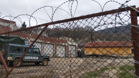 Бившите казарми край Малко Търново