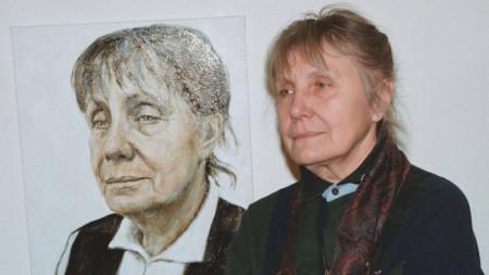Камелия до портрета си от Донка Павлова