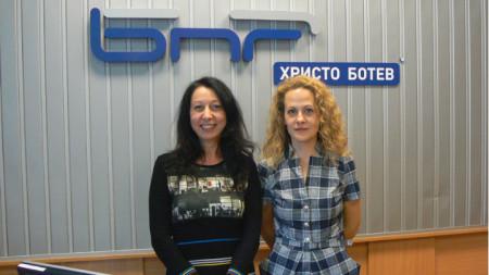 Николета Атанасова и Ралица Ковачева (вдясно)