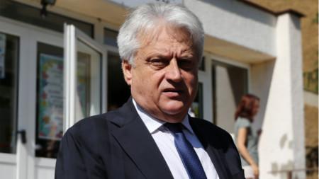 Boyko Rashkov, viceprimer ministro de Orden Público y Seguridad y titular del Interior interino de Bulgaria