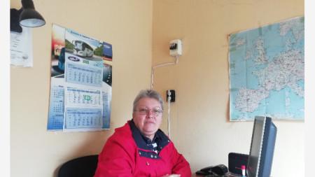 Стоянка Георгиева от транспортна компания в Балчик