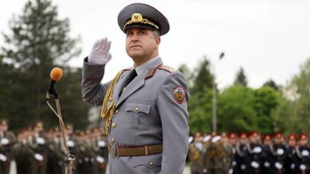 Полковник Иван Маламов, НВУ