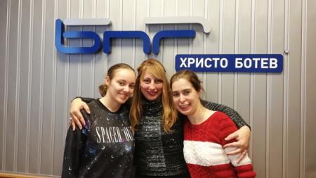 Неда Лаптева, Мария Мира Христова и Калина Колева (отляво надясно)