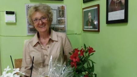 Председателката на сдружението Здравка Чимева