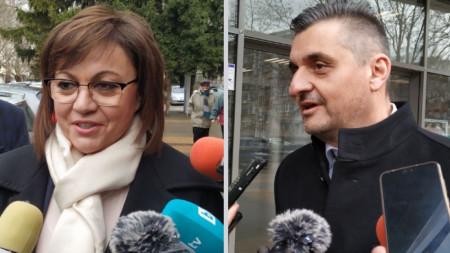 Корнелия Нинова и Кирил Добрев са с най-много номинации за лидер на БСП, но той няма да бъде избран на конгреса, а чрез пряк вот на партийните членове.