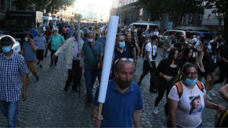 Протест срещу правителството на 10 юли 2020