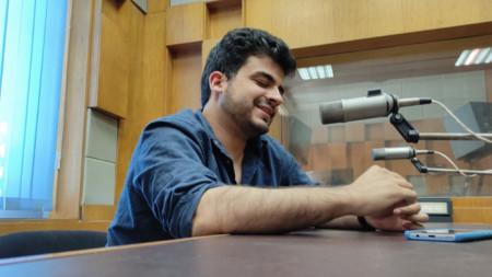 Мартин Касабов във второ студио на Радио Пловдив