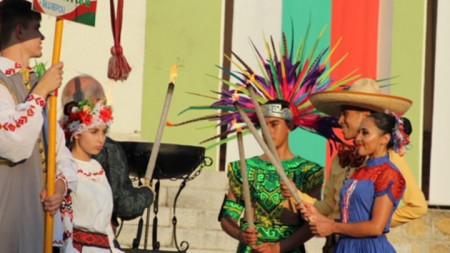 Над 270 младежи от Мексико, Коста Рика, Сърбия, Белорус и България гостуваха на Панагюрище за петото издание на фестивала