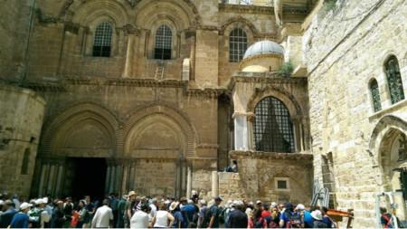 """Храмът """"Възкресение Христово"""" в Йерусалим"""
