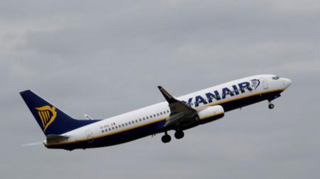 Boeing 737-8AS на Ryanair