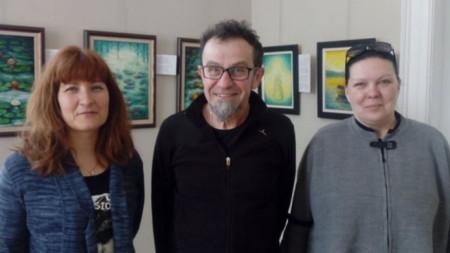Ралица Цветкова, Илия Алексиев и Ренета Миловска
