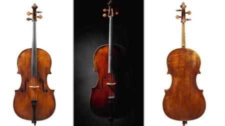 Музикалният инструмент е бил изработен през 1783 г. от Джовани Гуаданини,  ученик на Антонио Страдивари