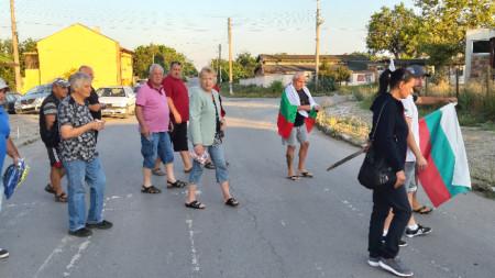 Протестът в Безмер
