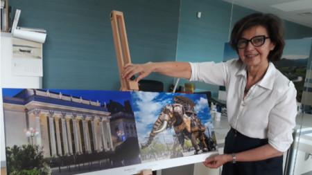 Ирина Петреску - аташе по културните въпроси във Френския институт в България