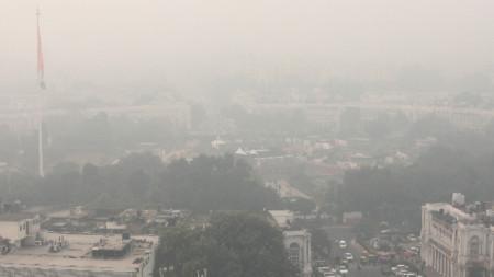 Замърсяване на въздуха в индийската столица Делхи.
