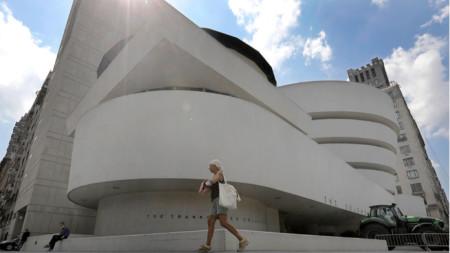 """Музеят """"Соломон Гугенхайм"""", Ню Йорк, САЩ."""