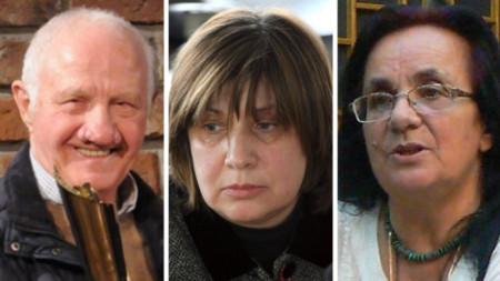 Milen Getov, Lilia Raycheva, Daniela Kaneva
