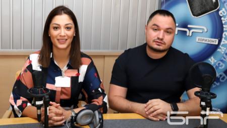 Евелина Славкова и Александър Миланов