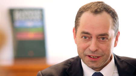 Angel Angelov, Bulgarian ambassador in Skopje
