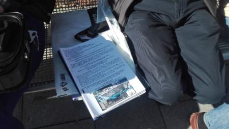 """От  """"Обединена София""""  внесоха над 3000 подписа в Столичната община срещу презастрояването в район """"Овча купел"""" и в цялата столица."""