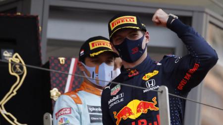 Макс Верстапен спечели в Монако