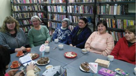 Пенсионерският клуб в Долни Богров
