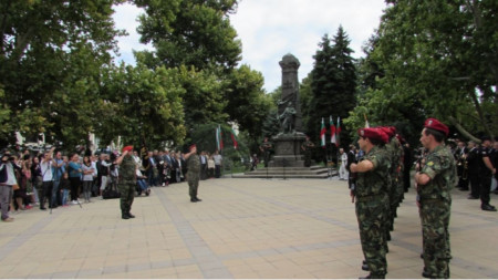Памятник погибшим в Сербско-болгарской войне