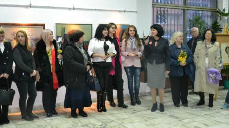 Откриване на изложбата на жените-творци, 2018г.