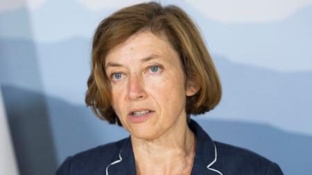 Френският министър на отбраната Флоранс Парли
