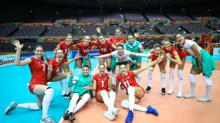 Българките след победата.