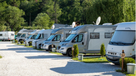 Thermal camping site Velingrad