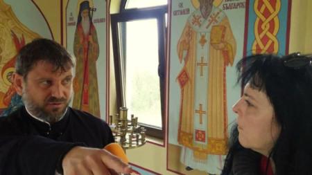 отец Вениамин от манастира