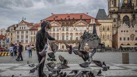 Прага -  24 май 2020 г.