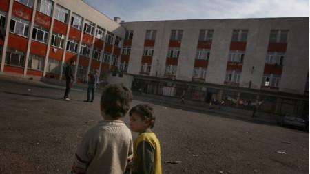 Общежитието за бежанци в район