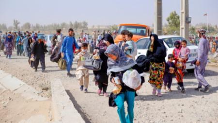 Афганистан бежанци